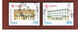 ITALIA REPUBBLICA  - SASS. 1935.1936   -      1990 EUROPA   -      USATO - 6. 1946-.. República