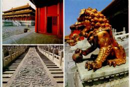 272303 CHINA PEKING Beijing Purple Forbidden City Poster - China