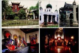 272313 CHINA Places Of Worship Russian Poster Card - China