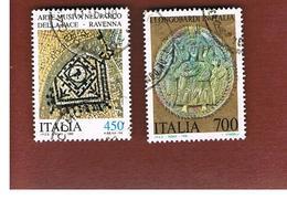 ITALIA REPUBBLICA  - SASS. 1939. 1940    -      1990 PATRIMONIO CULTURALE ITALIANO  -      USATO - 6. 1946-.. República
