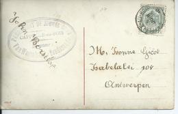 Fantasiekaart Met OCB 81   - Afstempeling CAPPELLE-AU-BOIS - COBA 8 - 1893-1907 Wapenschild