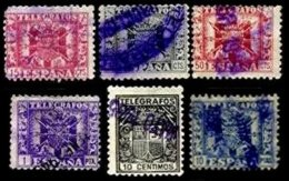 SPAIN, Telegraphs, Used, F/VF - Télégraphe