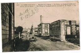 CPA Guerre 1914-1915, Bataille De MArne, La Village De Lenharée Entièrement Détroit (pk44736) - Autres Communes