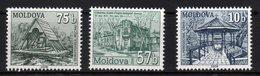 "Moldova Moldavia 2008 MNH ""Water Wells"" 3 Val. - Moldavia"