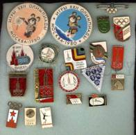 000090 Olympiad 80 In Moscow Of 20 Pins #90 - Badges