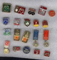 000156 WRESTLING Set 20 Russian Different Pins #156 - Wrestling
