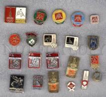 000159 WRESTLING Set 20 Russian Different Pins #159 - Wrestling