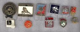 000172 WRESTLING Set 10 Russian Different Pins #172 - Wrestling