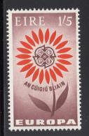 Ireland 1964 MNH Scott #197 1sh5p CEPT Daisy 22 Petals EUROPA - 1949-... République D'Irlande