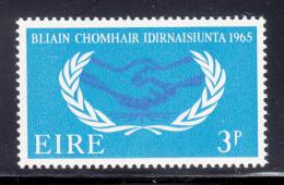 Ireland 1965 MNH Scott #202 3p International Cooperation Year - 1949-... République D'Irlande