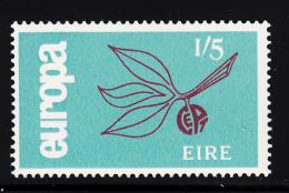 Ireland 1965 MNH Scott #205 1sh5p Leaves And Fruit EUROPA - 1949-... République D'Irlande