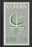 Ireland 1966 MH Scott #217 1sh5p Symbolic Sailboat EUROPA - 1949-... République D'Irlande