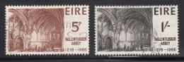 Ireland 1966 Used Scott #218-#219 Set Of 2 Ballintubber Abbey - 1949-... République D'Irlande