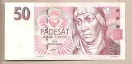 Rep. Ceca - Banconota Circolata Da 50 Corone P-17 - 1997 - Repubblica Ceca