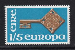 Ireland 1968 MNH Scott #243 1sh5p Golden Key EUROPA - 1949-... République D'Irlande