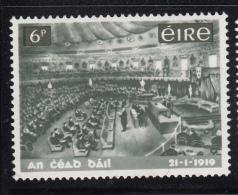 Ireland 1968 MH Scott #268 6p Irish Parliament 50th Ann Variety: Accent In Date - 1949-... République D'Irlande