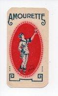 Amourette: Absinthe, Grande Distillerie Hemard à Montreuil, Carte Parfumee, Vibert Freres à Paris (18-1426) - Advertising