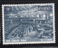 Ireland 1968 MH Scott #269 9p Irish Parliament 50th Ann Variety: Accent In Date - 1949-... République D'Irlande