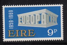 Ireland 1968 MNH Scott #270 9p EUROPA - 1949-... République D'Irlande