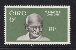 Ireland 1968 MNH Scott #275 6p Mahatma Gandhi - 1949-... République D'Irlande