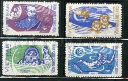 132066 SPACE VIETNAM 1965 Set 4 Stamps - Space