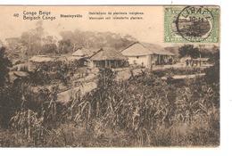 Belgisch Congo Belge Entier Vue 40 Stanleyville CP 5c + TP Mols 5c C.Lisala 6/1/1919 Non Voyagée PR5235 - Entiers Postaux