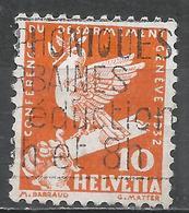 Switzerland 1932. Scott #211 (U) Dove On Broken Sword * - Oblitérés