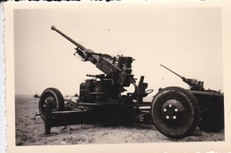 MILITARIA--PHOTO---( Canons )--voir 2 Scans - Krieg, Militär