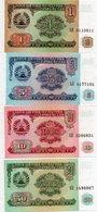 TAGIKISTAN-LOTTO 4 BANCONOTE UNC - Tagikistan