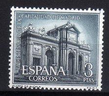 Spain Espana MNH 1961 4th CENTENARY OF MADRID AS CAPITAL TOWN Port Of Alcala - 1931-Oggi: 2. Rep. - ... Juan Carlos I