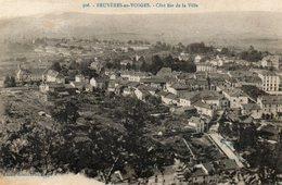 CPA - BRUYERES (88) - Vue Aérienne Du Bourg Au Début Du Siècle - Bruyeres