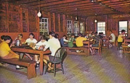 New Hampshire Spofford Camp Notre Dame Dining Hall