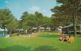 New Hampshire Spofford Camp Notre Dame Social Hall Cabins and Di