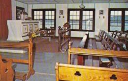 New Hampshire Spofford Camp Notre Dame Chapel Interior