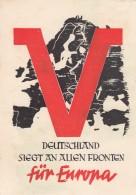 Deutsches Reich Postkarte Propaganda 1942 - Allemagne