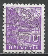 Switzerland 1934. Scott #221 (U) Chillon Castle * - Oblitérés