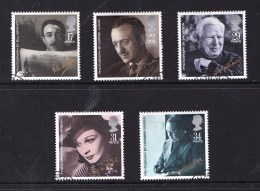 Great Britain 1985 Films Set Of 5 Used - 1952-.... (Elizabeth II)
