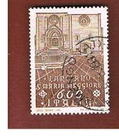 ITALIA REPUBBLICA  - SASS. 1964          -      1991  S. MARIA MAGGIORE, LANCIANO (CH)   -      USATO - 6. 1946-.. Repubblica