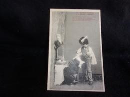 """Métiers . Coiffeur .Humour .Enfants ."""" Le Petit Coiffeur """" Série Bergeret .N°4.Voir 2 Scans. - Berufe"""