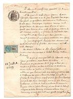 MANUSCRIT . ACTE NOTARIÉ . 64 - SAINT-PALAIS . LABETS-BISCAY - Réf. N°3M - - Manuscripts