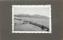 MARSEILLE (bouches Du Rhone) Le Long De La Corniche En 1938 (photo Format 8,8cm X 6,1 Cm) - Orte