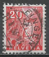 Switzerland 1934. Scott #223 (U) St. Gotthard Railroad * - Oblitérés