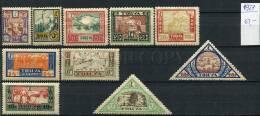265394 RUSSIA TUVA 1927 Year Stamps - Tuva