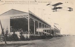 Grande Semaine D'Aviation De REIMS 22-29 Août 1909. L'Aéroplane De Sommer Passe Devant Les Tribunes - ....-1914: Voorlopers