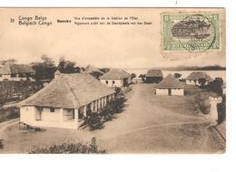 Belgisch Congo Belge Entier Vue 31 Basoko CP 5c + TP Mols 5c C.Lisala 6/1/1919 Non Voyagée PR5241 - Entiers Postaux