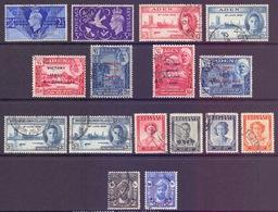 1946 Victory Stamps, Aden & States BSI Zanzibar Etc Used - Unclassified