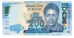 Malawi 200 Kwacha 2012 UNC From Bundle .SL. - Malawi