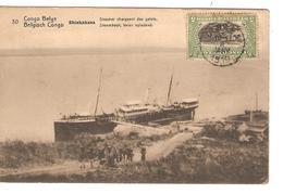 Belgisch Congo Belge Entier Vue 30 Shinkakasa  CP 5c + TP Mols 5c C.Lisala 6/1/1919 Non Voyagée PR5242 - Entiers Postaux