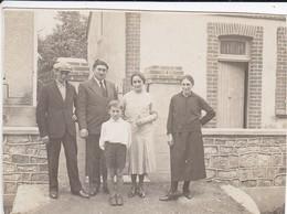 MINI-PHOTO---03---BEZENET---en Famille  1932--voir 2 Scans - Photographie
