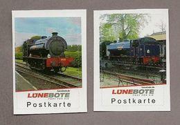 Lünebote - Eisenbahn - 2 Werte Mit Der Dampflok Nr. 25 Northiam - Eisenbahnen